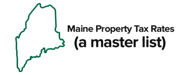 Maine Property Tax Mil Rate