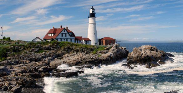 Maine Photo Lighthouse